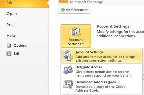 Add Another Mailbox To Your Outlook 2010 Profile